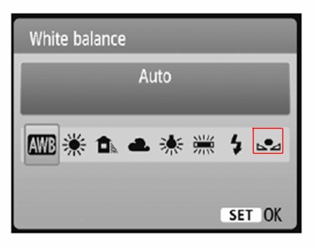 выставить баланс белого видео